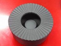 南部鉄灰皿小直10cm高さ4cm浄水竹炭5枚付