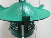 南部鉄風鈴古代大最高グレード風鈴浄水竹炭5枚付
