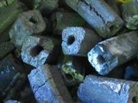 福化カットオガ炭10kg特級国産オガ炭4角カット