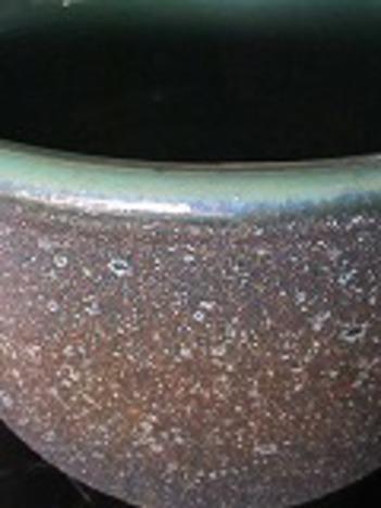 信楽焼き水鉢(睡蓮鉢)