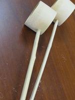 天然竹ひしゃく全40cm直8cm国産天然竹