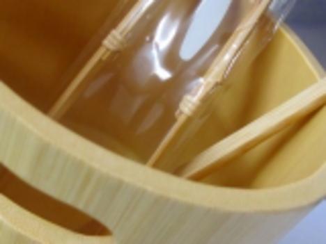 竹製氷入れ