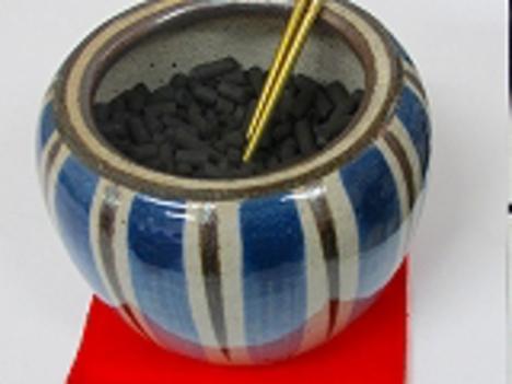 加熱竹炭活性炭