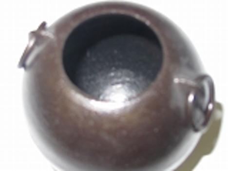 南部鉄花器珠中8.2×8.2cm