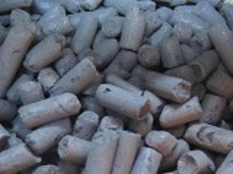 竹加熱活性炭500g信楽焼手火鉢セット--A