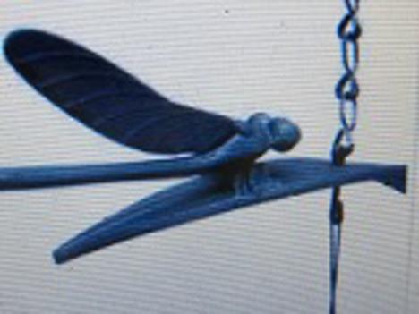 南部鉄風鈴トンボ+ 横26.5cm
