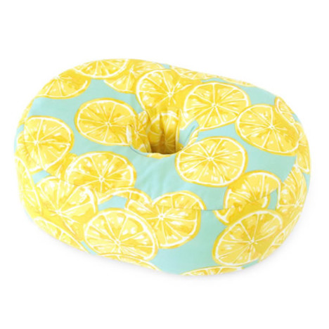 ab038】 【※代引不可】 おひるね枕 お昼寝枕『冷感おひるね枕 レモン』 冷感 ひんやり 接触冷感 昼寝枕