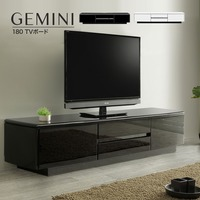 テレビボード Gemini ジェミニ 180 ローボード テレビ台 リビングボード おしゃれ 開梱設置【sg005】