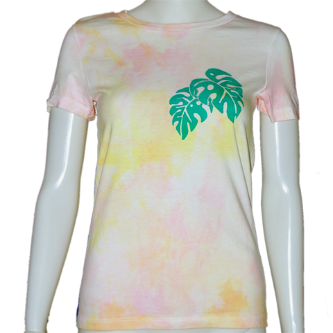 オリジナルTシャツ monstera4