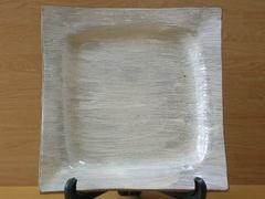 白刷毛角大皿