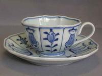 割り異人木甲紅茶碗皿
