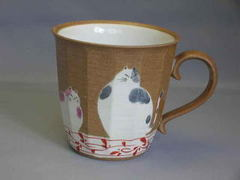 仲良し猫マグカップ