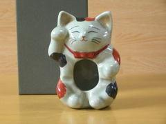 招き猫灰皿