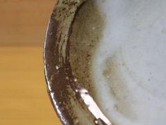 皿の釉薬の状態
