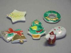 京のクリスマス箸置き揃い