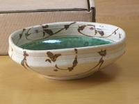 陶織部四方鉢