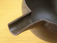 清水焼 花月窯 南蛮片口注器