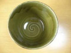美濃焼 天狗窯 織部市松夏目5.0丼