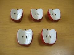 錦リンゴ箸置き揃い