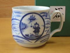 長崎紋フリーマグカップ