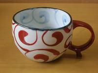 ペルシャ紋サークルマグカップ