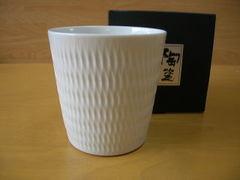 陶切子凛ロックカップ