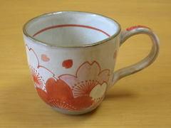 桜の花マグカップ