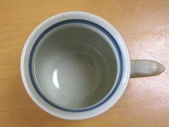 有田焼 円左ェ門窯 色絵行列マグカップ