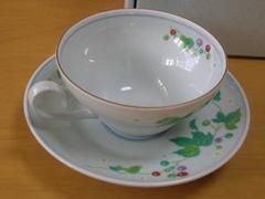 洋ぶどう紅茶碗皿
