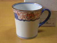 帯雲錦マグカップ