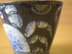 有田焼 童工房 野々土吹き墨蟹絵マルチカップ