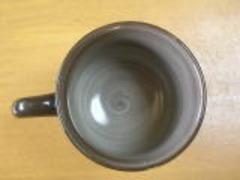 現川焼 横石臥牛作 武蔵野 珈琲碗皿