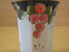 波佐見焼 福峰窯 色彩ぶどうマグカップ(赤)