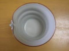 清水焼 秀峰窯 花波唐草(青)フリーカップ
