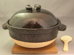 伊賀焼 かまどさん3号炊きご飯鍋