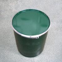 50L 鉄製オープンドラム缶(外レバーバンド)