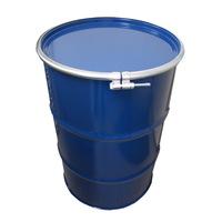 【全14色】 200L 鉄製オープンドラム缶(ボルトバンド)