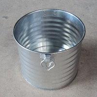 飼馬缶340φ(亜鉛メッキ鋼板オープン缶)