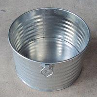 飼馬缶450φ(亜鉛メッキ鋼板オープン缶)