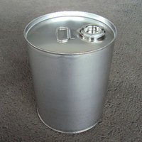 20Lステンレス製クローズドラム缶