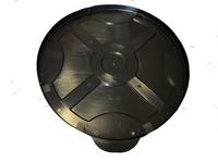 【代引不可】ポリ製ドラムカバーNEWタイプ(クローズドラム缶用) 15個セット 特別ご提供商品 c21p