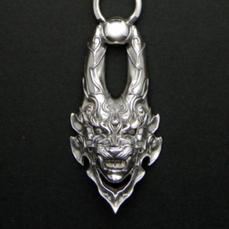 牙狼 GARO 魔導具シルヴァペンダント メンズ シルバー 正規ライセンス品 GR-GARO-N01