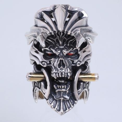 牙狼 GARO 魔導輪ザルバ シールド バージョン メンズ シルバー リング 正規ライセンス品 GARO-SD