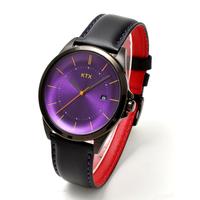 KTX ケーティーエックス バブルスーパースリム 腕時計 アナログ クォーツ 紫 パープル文字盤 KX101-10