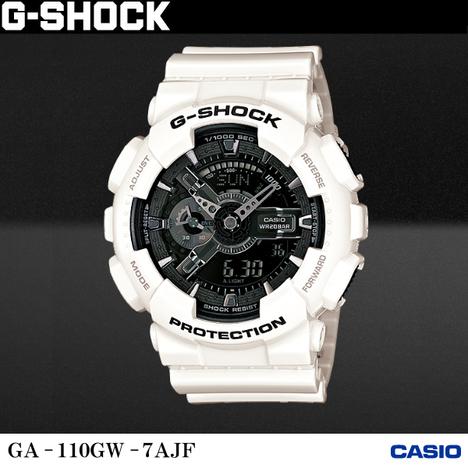 20%OFF G-SHOCK G-ショック CASIO カシオ GA-110GW-7AJF