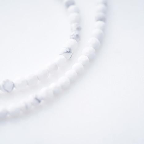 クレセントルナ Crescent Luna WHITE TURQUOISE ホワイトターコイズ チェーン ショート CLCH010-S