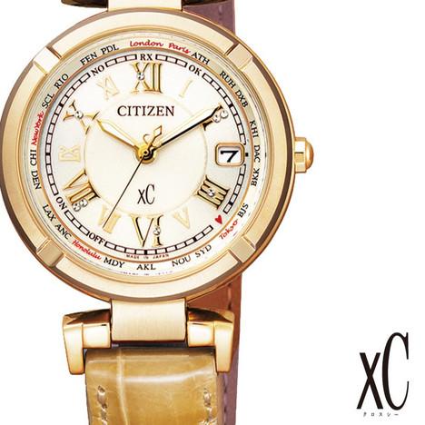 33%OFF クロスシー XC シチズン CITIZEN 腕時計 ウォッチ レディース ティタニアライン ハッピーフライト ソーラー電波 正規品 EC1115-08A