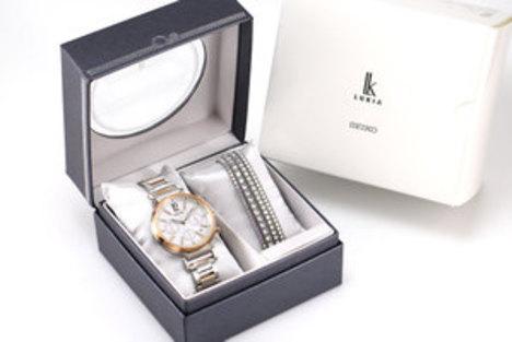 30%OFF ルキア LUKIA サマーリミテッドエディション 電波ソーラー レディース 腕時計 セイコー SEIKO 正規品 日本製 SSVS030