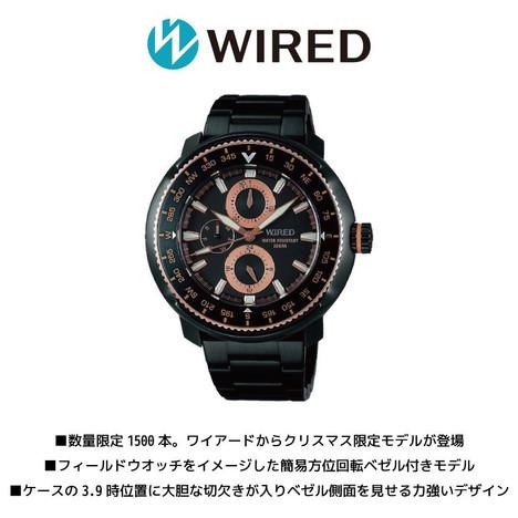 30%OFF ワイアード WIRED セイコー SEIKO クリスマス 限定モデル 数量限定 1500本 腕時計 ウォッチ AGAT719