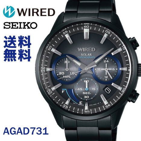 10%OFF ワイアード WIRED セイコー SEIKO WIRED TOKYO SORA Black Edition 限定モデル メンズ 腕時計 国内正規品 AGAD731